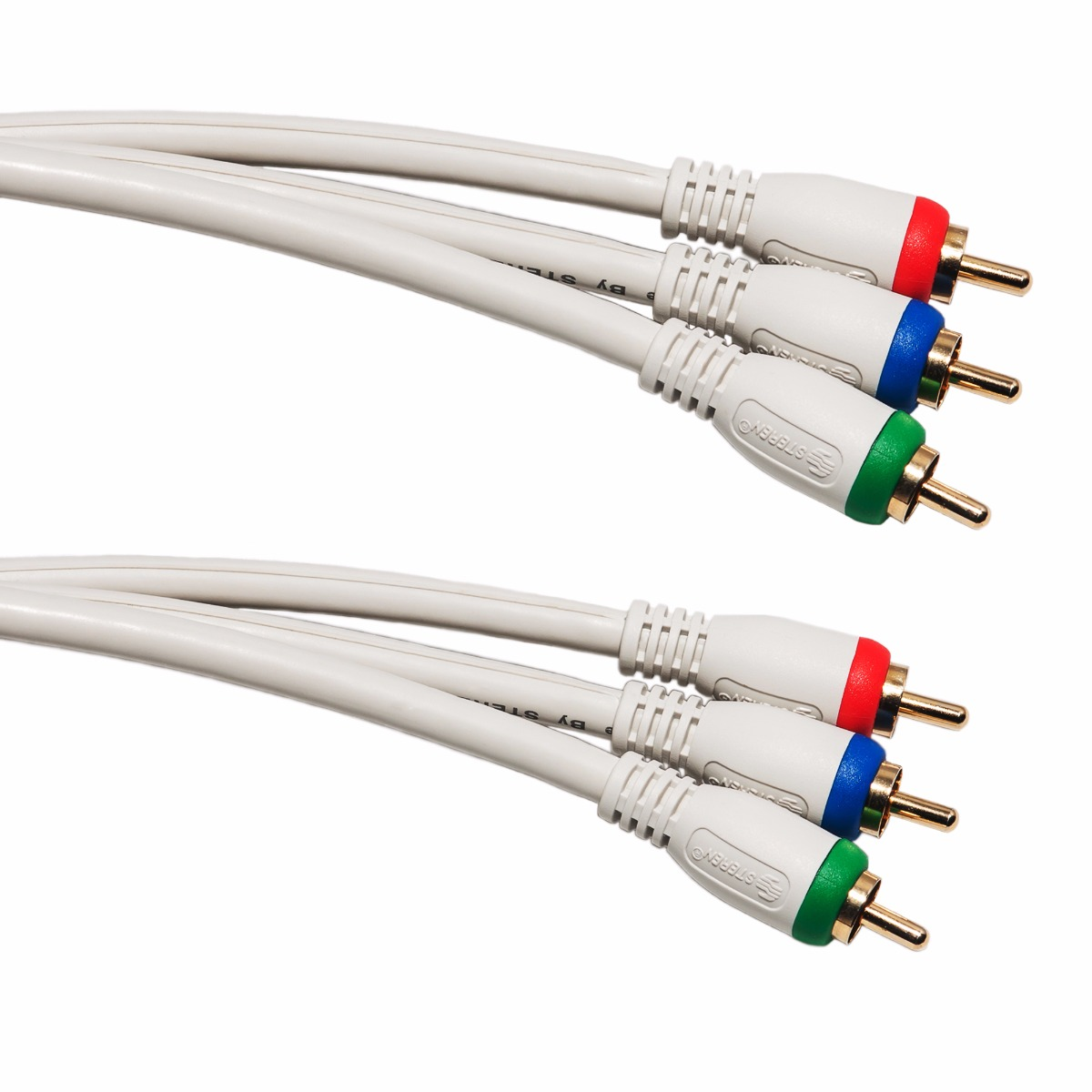 Component RCA Video Cables Shielded | ShowMeCables.com