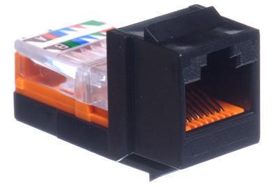 cat5e-universal-jack-module-panduit-netkey-black-1 Wiring Ethernet Jack on