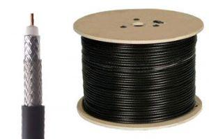 Belden 9914 - RG8 95% Shield Coax Cable - BC - Black - 1000 FT