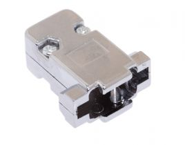DB9 & HD15 VGA Hood - Metalized Plastic