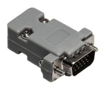 HD15 VGA Male Solder Connector Kit - Plastic