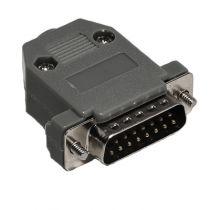 DB15 Male Solder Connector Kit - Plastic