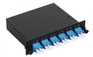 LC Singlemode Duplex MTP/MPO Fiber Optic Cassette - 9/125 - 6 Port