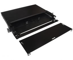 1U - Slide Out - 3 Fiber Adapter Patch and Splice Panel