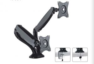 Counterbalance Desk Mount - Dual Computer Monitor - 13 inch - 27 inch
