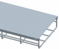 """12"""" Wide Cable Tray Cover - 1 Meter"""