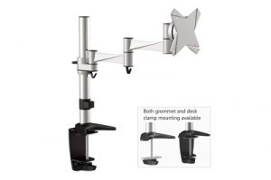 Single Computer Monitor Desk Mount - 13 inch - 23 inch