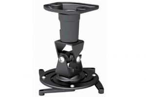 Universal Projector Wall/Ceiling Mount - Black