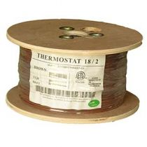 Thermostat Cable - Unshielded- CMR - 500ft - 18 AWG - 2 Conductor