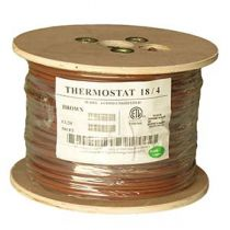 Thermostat Cable - Unshielded- CMR - 500ft - 18 AWG - 4 Conductor