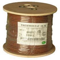 Thermostat Cable - Unshielded- CMR - 250ft - 18 AWG - 8 Conductor