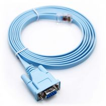 Cisco 72-3383-01 Compatible Rollover Console Cable - DB9 Female to RJ45 - 6 FT