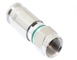 Holland SLCU-6Q F-Type Male Compression Connector - RG6 Quad