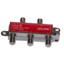 4-Way Coax Splitter - 5-2050 MHz - All Ports Power Passive