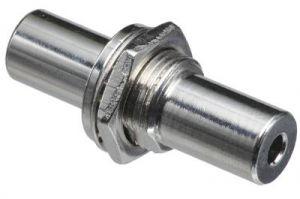 3.5mm Stereo Female to 3.5mm Stereo Female Bulkhead Adapter | 1/2' Hole