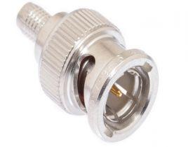 BNC Male Crimp Connector - Belden 8241 & RG59