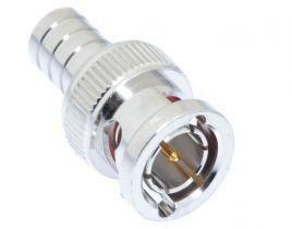 BNC Male Crimp Connector - RG59 & RG62 Plenum