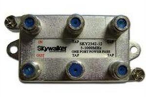 Quad Port Coax Tap - 5 to 1000 MHz