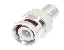 BNC Male Crimp Connector - RG59 & RG62 PVC