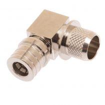QMA Right Angle Male Crimp Connector - LMR-400