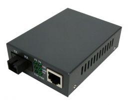 Singlemode WDM Media Converter - 10/100 Base-TX 1310nm to 100 Base-FX - RJ45 to SC - 20 Km