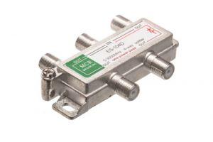 4-Way Coax Splitter - 5 to 2150 MHz