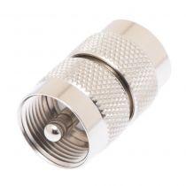 UHF Male to UHF Male Adapter