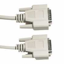 DB15 Male to DB15 Female Extension Serial Cable - 6 FT