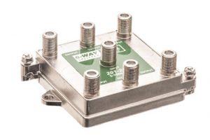 6-Way Coax Splitter - 5 to 1000 MHz