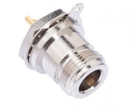 N Female Chassis Mount Receptacle