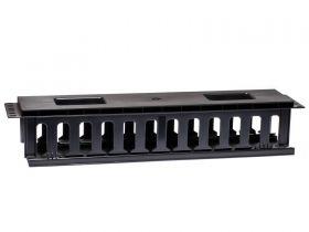 "ECore 2U 19"" Cable Management Plastic material"