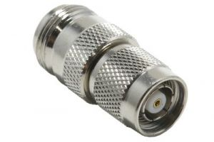 N Female to Reverse-Polarity TNC Male Adapter