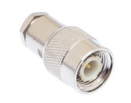 TNC Male Clamp/Solder Connector - RG58, RG141 & LMR-195