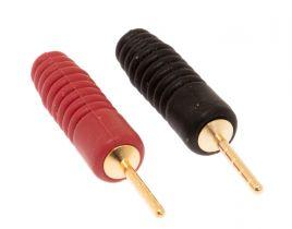 Speaker Pin - Plastic - Black & Red