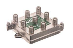 8-Way Coax Splitter - 5 to 1000 MHz