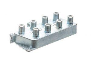 8-Way Coax Splitter - 5 to 900 MHz