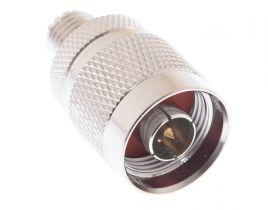 N Male to Mini UHF Female Adapter