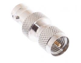 BNC Female to Mini UHF Male Adapter
