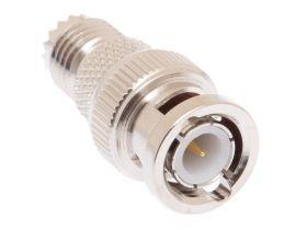 BNC Male to Mini UHF Female Adapter