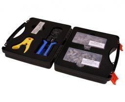 Cat5e Shielded Bulk Ethernet Network Termination Tool Kit