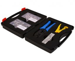 Cat6a Shielded Bulk Ethernet Network Termination Tool Kit