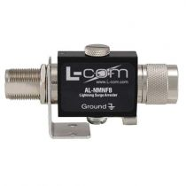 L-com N-Male to N-Female Bulkhead 0-3 GHz 230V Lightning Protector