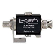 L-com BNC-Plug to RP BNC-Jack Bulkhead 0-3 GHz 90V Lightning Protector