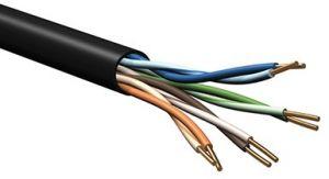 Belden 7930A - DataTuff® Cat5e UTP Stranded Industrial Grade PVC - 200MHz - 1000 FT