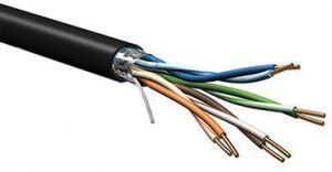 Belden 7919A - DataTuff® Cat5e Shielded Solid Industrial Grade PVC - 100MHz - 1000 FT