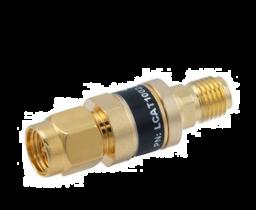 L-com 2W/1dB RF Fixed Attenuator - SMA Male to SMA Female - Gold - 3 GHz
