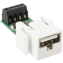 USB Keystone Charger 5V - 2.8 Output Max