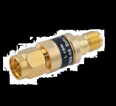 L-com 2W/9dB RF Fixed Attenuator - SMA Male to SMA Female - Gold - 3 GHz
