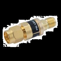 L-com 2W/10dB RF Fixed Attenuator - SMA Male to SMA Female - Gold - 3 GHz