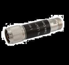L-com 2W/1dB RF Fixed Attenuator - N Male to N Female - Brass Nickel - 3 GHz